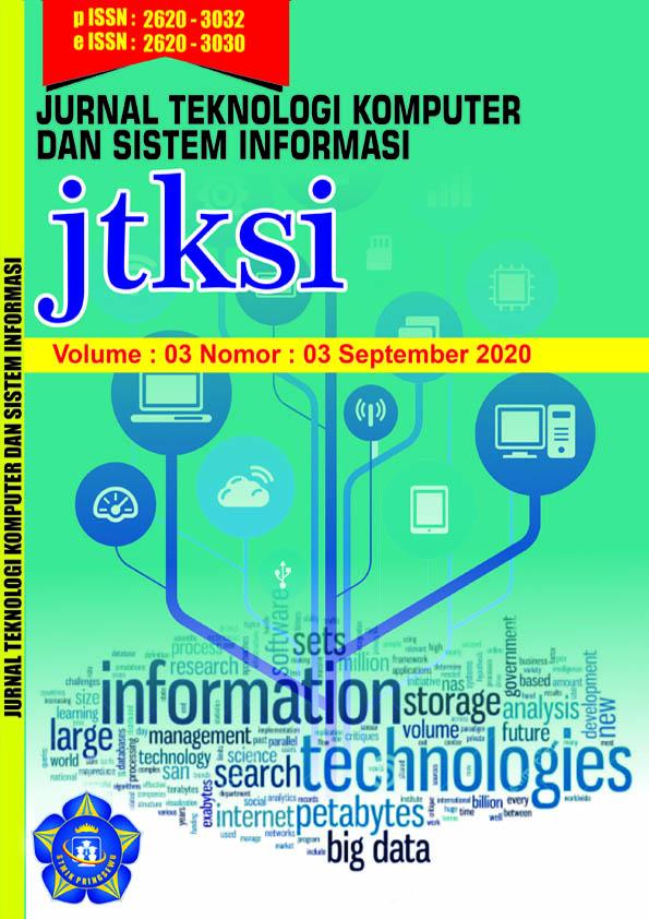 Jtksi Jurnal Teknologi Komputer Dan Sistem Informasi